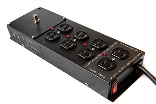 Rockn Stompn RS-4 Musicians Multimode Power Sequencer and Conditioner