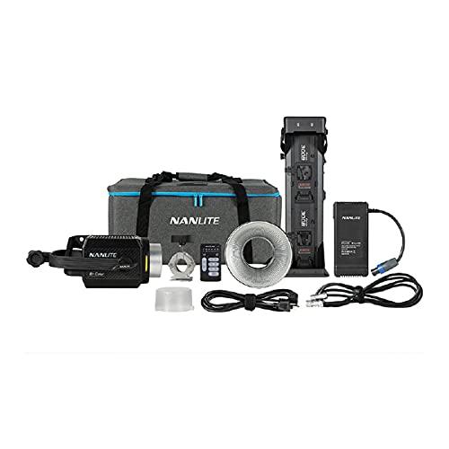 NanLite Forza Series 300 Watt COB LED Bi-Colour Monolight Per Fotografia e Videografia Illuminazione Luminosa Studio - NGFORZA300B…
