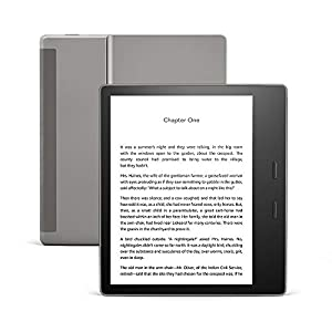 All-new Kindle Oasis – Now with adjustable warm light – 8 GB, Graphite (International Version)