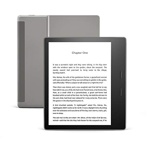 All-new Kindle Oasis - Now with adjustable warm light - 8 GB, Graphite (International Version)