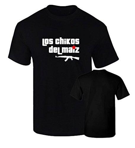 BC Camisetas Los Chikos del Maiz Rap Podemos Algodon 190grs (L)