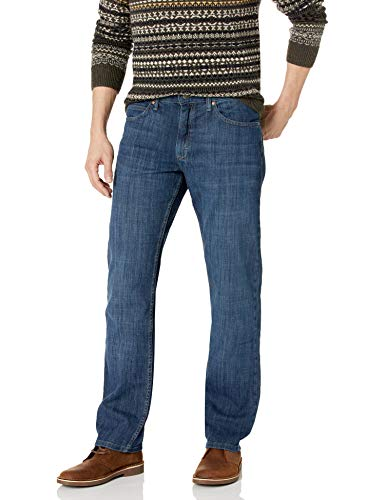 LEE Men's Regular Fit Straight Leg Jean, Lenox, 33W x 29L