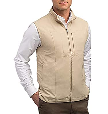 SCOTTeVEST Men's RFID Travel Vest - 26 Pockets – Travel Clothing