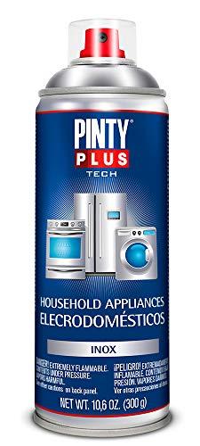 PINTYPLUS TECH 150 Pintura Spray electrodomésticos 520cc INOX E150, Acero Inoxidable, 3.8 l (Paquete de 1)