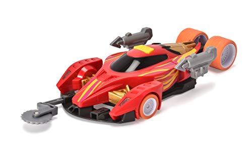 Jada Toys 203203002 Fast & Furious Spy Racers Echo's Rally Hyperfin, Spielzeugauto, bekannt aus Netflix Serie, mit Zubehör, Licht & Sound, inkl. Batterien, Maßstab 1:24, für Kinder ab 3 Jahren, rot