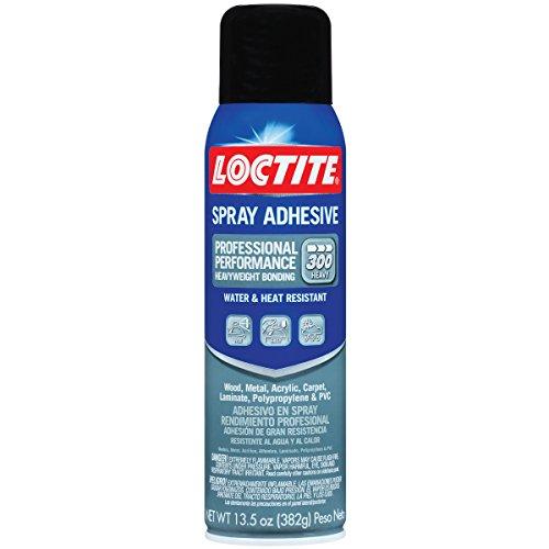 Loctite 2267077 Professional Performance 300 Spray Adhesive, Single, Translucent, 13.5 Oz