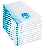 NICERE Recambios para aspiradora 12 piezas Set bolsa de vacío 60x40 cm bolsa de almacenamiento bolsa de vacío