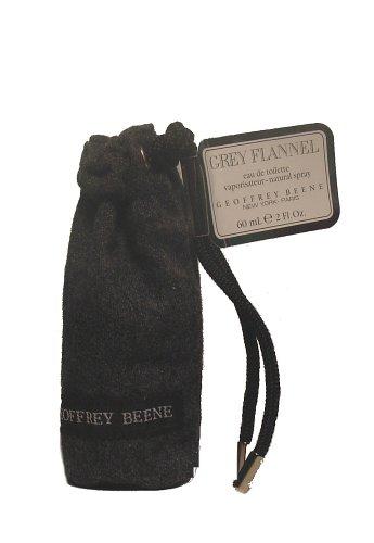 Geoffrey Beene gris franela Eau de Toilette con vaporizador 60ml 2fl. oz
