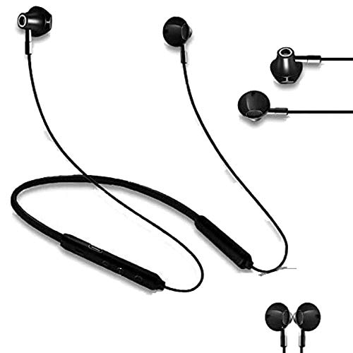 Wireless Bluetooth Earbuds Headphones - IPX5 Sweatproof, Waterproof Earphones, Athletic Sports Neckband Headsets, Gym Workout Earbud, Secure Fit for Running