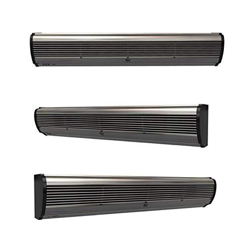 Vortice AIR DOOR Barriera D'aria Lama 2 Ventole Refrigerante Basso Consumo Telecomando 2 Velocità Preserva Cibi Umidità (AD1200 (120 CM))