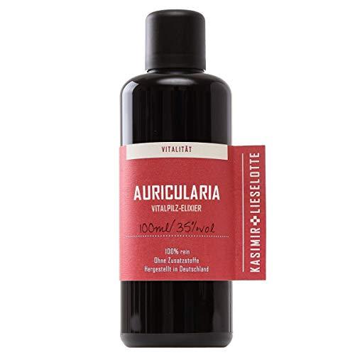 Bio Auricularia Tinktur 100ml - qualitative Judasohr (Auricularia polytricha) Pilz Tinktur im Violettglas