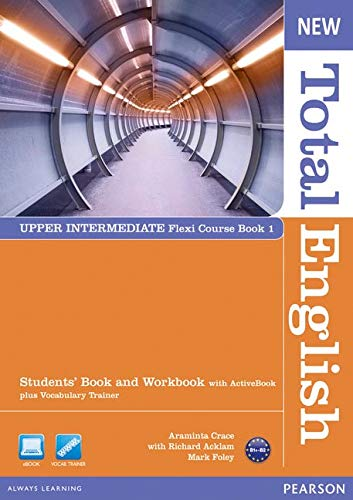 New Total English Upper-Intermediate Split Edition Student Book A with DVD/ActiveBook CD-ROM and Workbook with Audio CDの詳細を見る