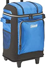 Coleman 42-Can Soft Cooler with Removable Liner & Wheels, Blue