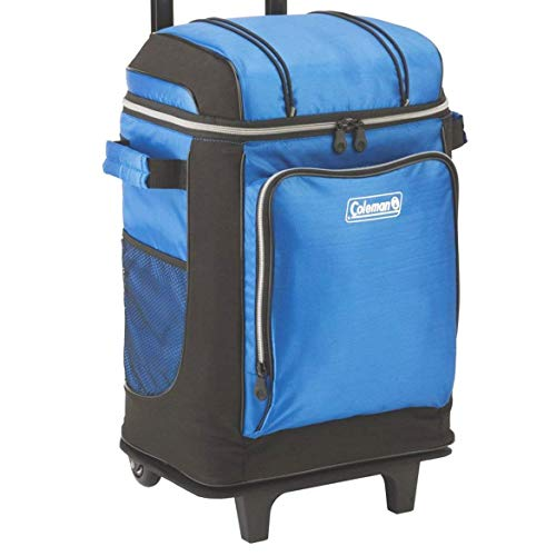 Coleman 42-Can Soft Cooler with Removable Wheels