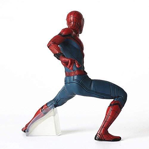 WXFQX Liga de la Justicia héroe regresa Versión MAF047 Spider-Man película Superman...