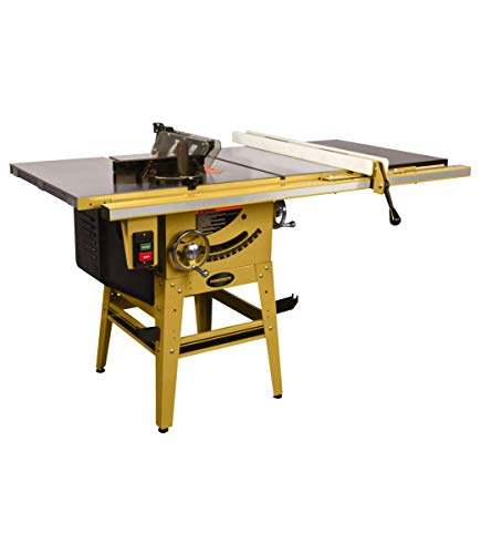 Powermatic 1791230K 64B Table Saw, 1.75 Hp 115/230V, 50-inch Fence With Riving Knife
