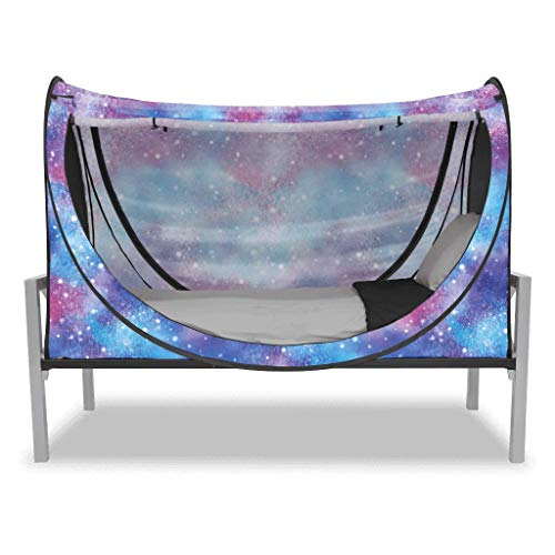 Privacy Pop Eclipse Bed Tent - Full/Unicorn Galaxy