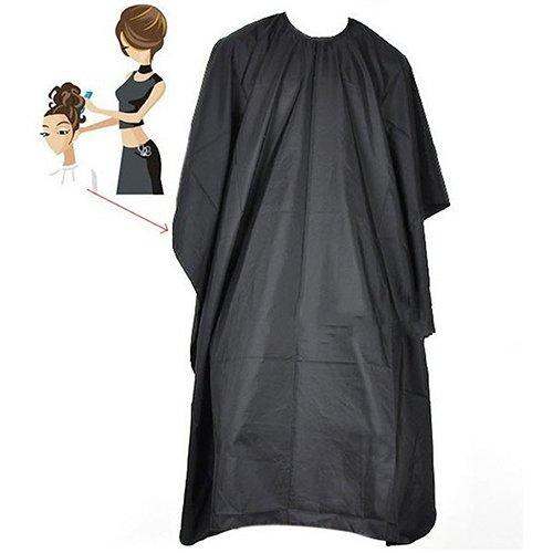 Capa de peluquería para peluquería de peluquería profesional de peluquería barbero sólido negro lyhhai
