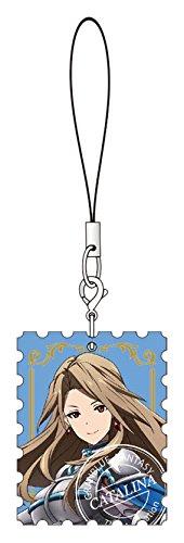 グランブルーファンタジー カタリナ 本革切手ストラップ