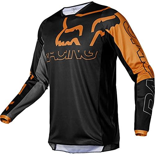Fox Racing Herren 180 SKEW Motocross Jersey Trikot, schwarz, Medium