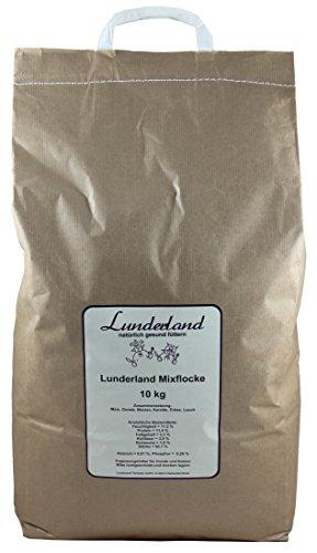 Lunderland - Mixflocke mit 30 Percent Gemüseanteil Flocken 10 kg, 1er Pack (1 x 10 kg)
