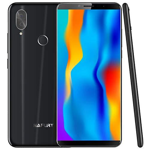 HAFURY NOTE 10 4G Android 9 Dual Sim Smartphone Libre Desbloqueado, pantalla 5.93 inch FHD con batería de 4000Mah, 4GB RAM+32GB ROM, ampliable hasta 128 GB, teléfono móvil doble cámara8MP+16MP,Negro