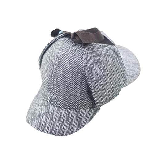 Cosplay Cap Detektiv Sherlock Holmes Deerstalker Caps Berets Cap
