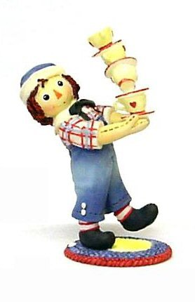 Raggedy Ann and Andy - Friendship Warms The Heart & Soul -  Enesco, 823481