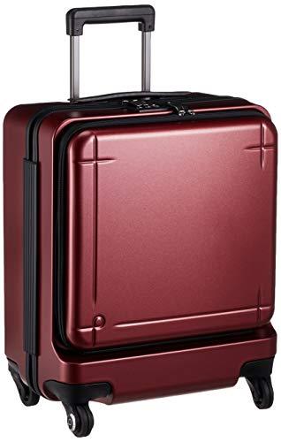 [プロテカ] スーツケース 日本製 マックスパス3 3年保証付 ストッパー付 機内持ち込み可 保証付 40L 45 cm 3.6kg コロナレッド