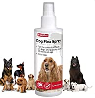 Beaphar Dog Flea Spray kills fleas on your Dog and prevents their return for 3-4 days. Based on pyrethrum plant extracts, a natural insecticide grown in Kenya, this spray is suitable for Dogs over 12 weeks of age, and has a silent action pump spray. ...