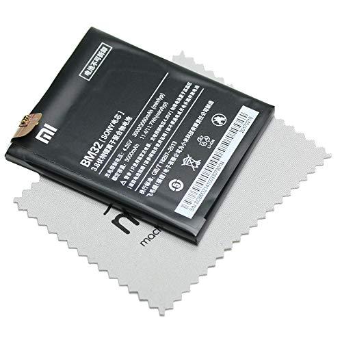 Batería para Xiaomi Original BM32 para Xiaomi Mi 4 con paño de limpieza de pantalla Mungoo