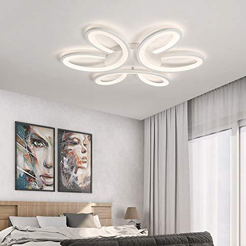 Dimbare LED-Plafond Licht, Modern Metal Acryl Met Afstandsbediening Inbouw Plafondlamp Huiskamer Keuken, D63 * 7Cm