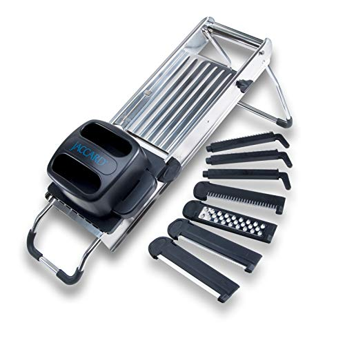 Jaccard Slicer Mandolin / 7 Blades, Full Size, Stainless Steel