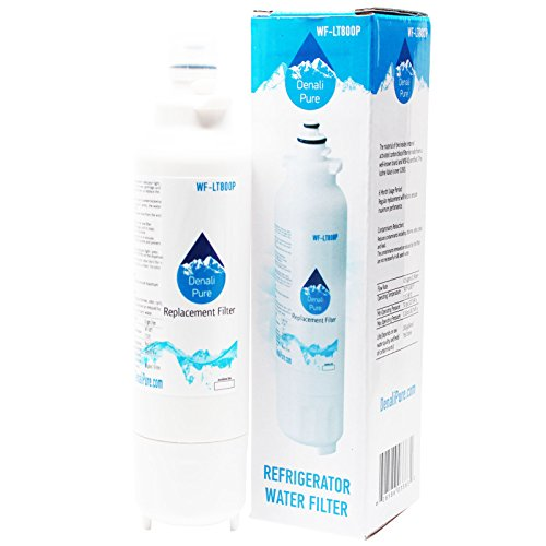 Denali Pure Repuesto para filtro de agua para frigorífico LG LSXS26326S compatible con LG LT800P ADQ73613401 cartucho de filtro de agua para frigorífico