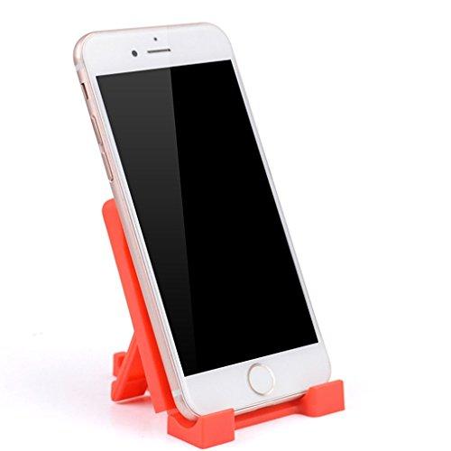 Vokmon F1 teléfono PP plástica del teléfono de la Tableta Adustable PP anaquel Soporte para Dispositivos