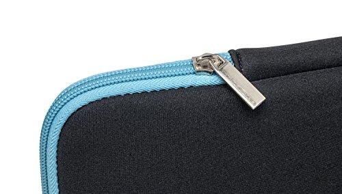 Slabo Tablet Tasche Schutzhülle für Lenovo Miix 310 / Miix 320 Hülle Etui Case Phablet aus Neopren – TÜRKIS/SCHWARZ