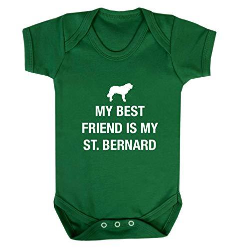 Flox Creative Gilet pour bébé Best Friend St. Bernard - Vert - XS