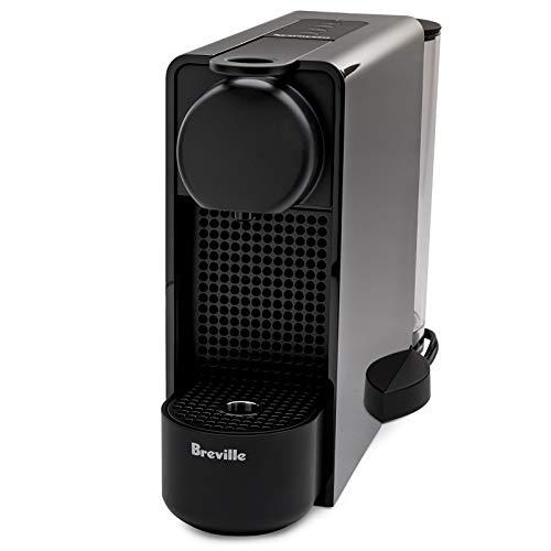Nespresso BEC320BLK1BUC1 Essenza Plus Coffee Machine by Breville (Black)