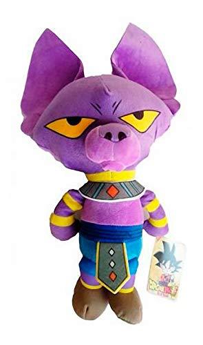 Peluche Beerus Dios DE LA DESTRUCCIÓN Dragon Ball Super 25 CM