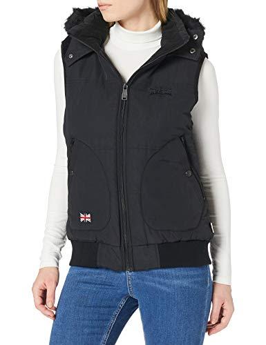 Lonsdale Womens ANSTY Vest, Black, Large