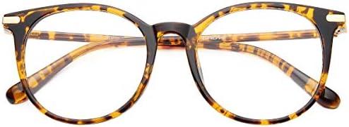 Gaoye Blue Light Blocking Glasses Stylish Retro Round Frame Anti UV Ray Computer Gaming Eyeglasses product image