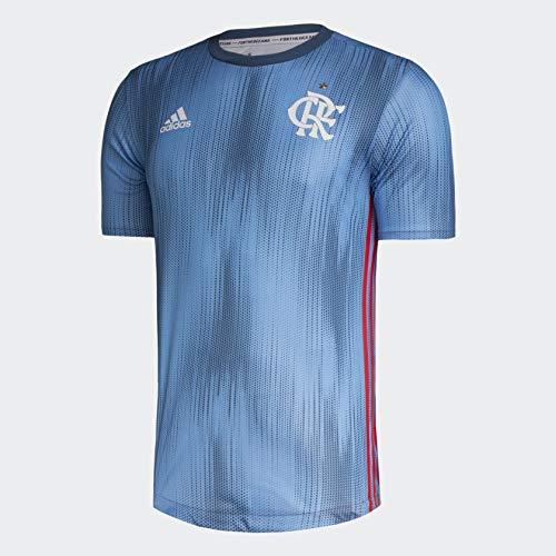 Camisa Original Flamengo Adidas Authentic Modelo Jogador Azul 2018 (GG)