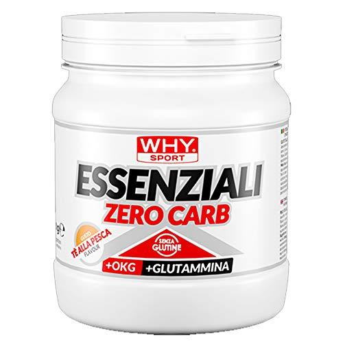 WHY SPORT Essenziali Zero Carb - Aminoacidi essenziali gusto The pesca