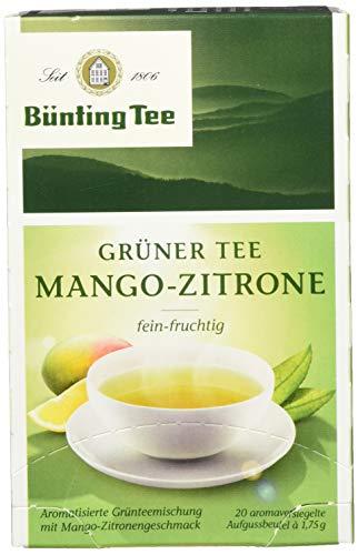 Bünting Tee Grüner Mango-Zitrone (1 x 35 g)