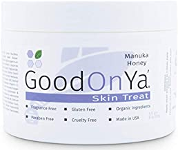 Manuka Honey Face Moisturizer with Coconut Oil, Cocoa Butter, Aloe Vera, Vitamin E and Vitamin C - Anti Aging and Skin Cream - Pore Minimizer and MSM Cream (8oz)