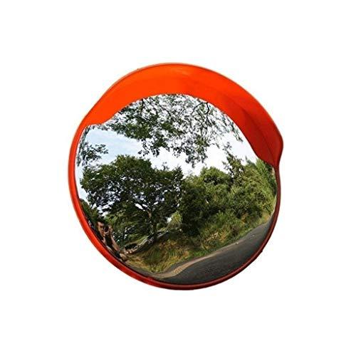 Jinan spiegel met groothoek, voor mountainbike, smalle ruimte, veiligheid in het wegverkeer, niet vervormde polycarbonaat-lenzen, groothoek, parken, straatspiegel, convexer spiegel 45-120 cm veiligheid