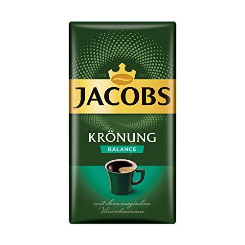 Jacobs Filterkaffee Krönung Balance, 500 g gemahlener Kaffee