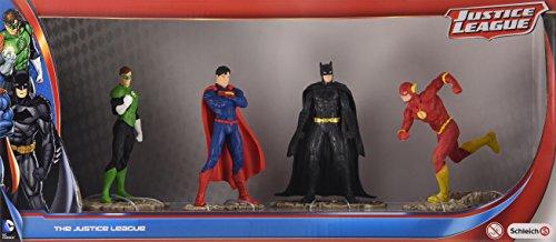 Schleich 22515 Justice League Set mit Batman, Superman, Green Lantern und The Flash