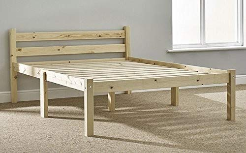 Strictly Beds and Bunks - Pine Double Bed Frame, 4ft 6 Double