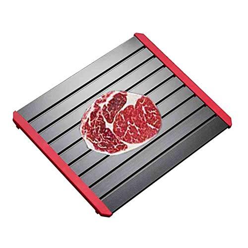 Platte Auftauen AGYH Abtauen Platte Abtauwanne, Fast Food-Hühnchen for Steaks, Sichere Weg Auftauen Küche Food, Essen Sehr Lecker (Size : 30.5X20.5CM)